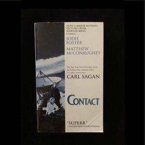 🔮3/$10 Contact by Carl Sagan